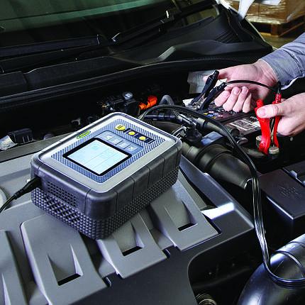 Інтелектуальне зарядний пристрій RING RESC608 PROFESSIONAL 12В, 8А, фото 2