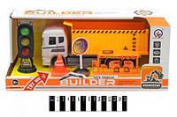 Машина інерц. з набором (муз. зі світл., коробка) 6633 р.23*7,4*10,5см.