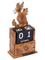 """Календарь """"Дракон"""" с выдвижным ящичком, 30см*15см"""