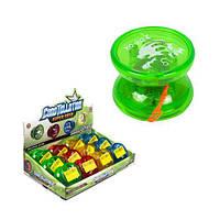 "Игра ""Йо-Йо"", со светом (зеленое) 700-4 sco"