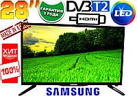 LED телевизор Samsung 28'' FullHD, T2, USB, HDMI, КОРЕЯ! Super slim