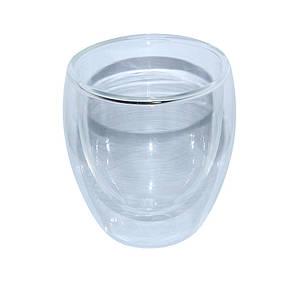 Пиала из двойного стекла Любимый чай, 250 мл, фото 2