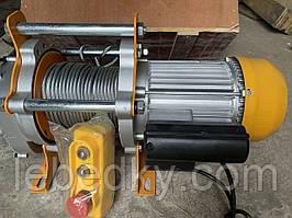 Лебедка электрическая строительная КСD 220v, 500-1000 кг