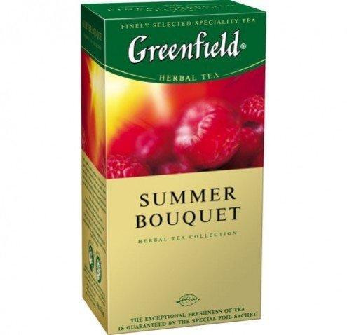 Чай черный Greenfield Summer bouqet 2 g x 25 шт х 10 шт в уп