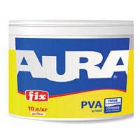 Клей ПВА Aura Fix Белый 10 л для склеивания изделий из различных материалов 4820166520688