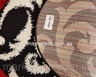 Килимок Shaggy 50х80 див. пухнастий з довгим ворсом. Туреччина., фото 2