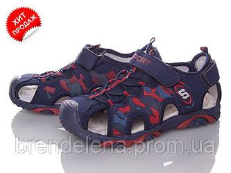Спортивні босоніжки для хлопчиків р 36-22см (код 8650-00)