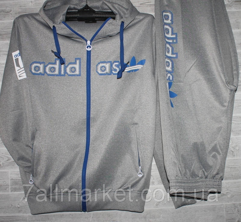 f6c63004 Спортивный костюм мужской ADIDAS размеры XL-4XL (2цв)