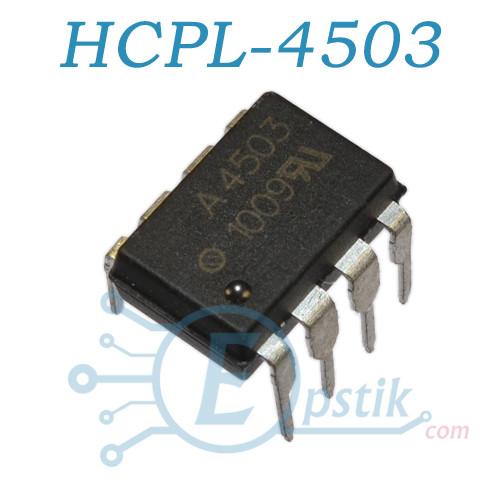 HCPL-4503, оптопара ультрабыстрая, DIP8