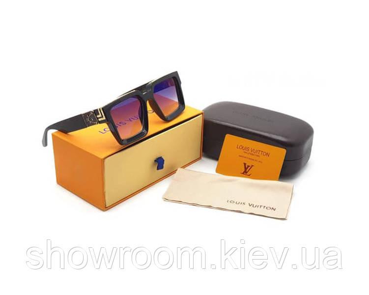 Мужские солнцезащитные очки в стиле Louis Vuitton (0993) , фото 1