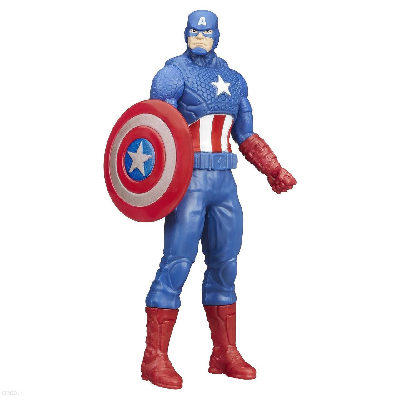 Фигурка Капитан Америка высотой 15 см. Оригинал Hasbro B1815/B1686