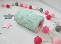 Подушка для годування та заколисування малюка  в рожево-м'ятних кольорах 1921