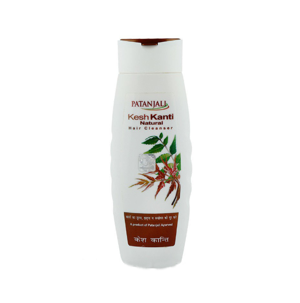 Шампунь для улучшения роста волос Натурал Кеш Канти, Патанджали Patanjali, Kesh Kanti Natural, 200 мл
