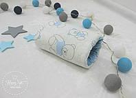 Подушка для годування та заколисування малюка  в блакитних кольорах 1923