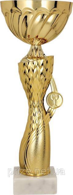 Кубок 7183/B, золотистый, 32 см.