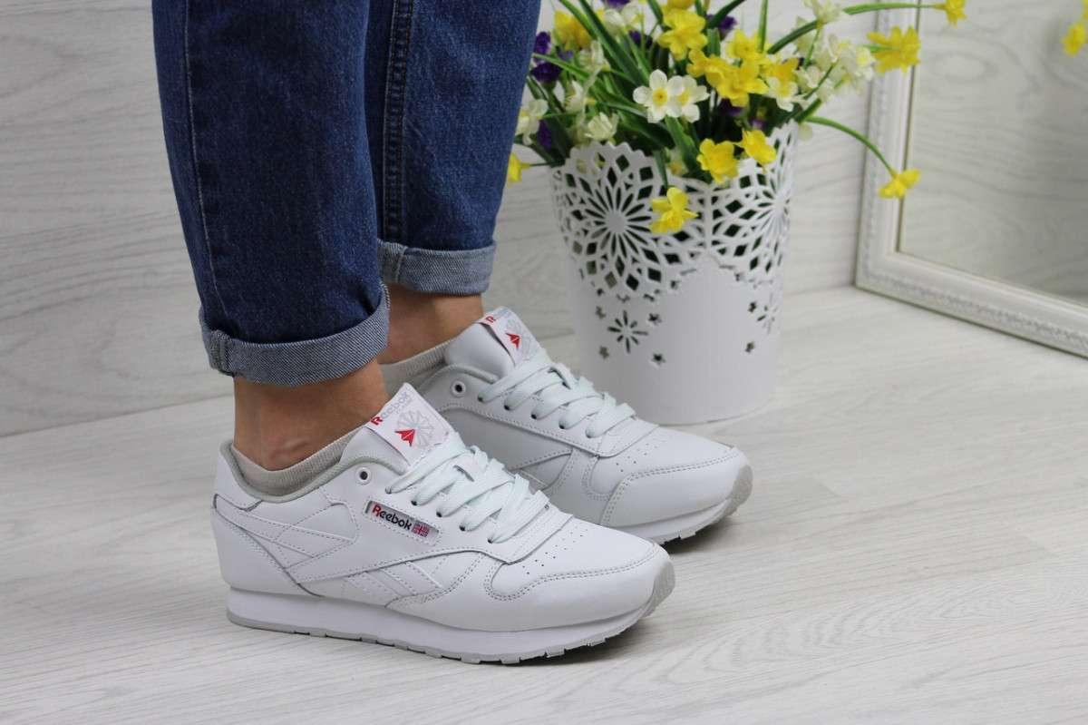292d6357 Женские кроссовки белые Reebok Classic 7232 купить в интернет ...