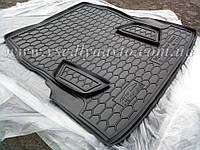 Коврик в багажник MERCEDES S-Class W222 с регулировкой сидений (Avto-gumm) пластик+резина