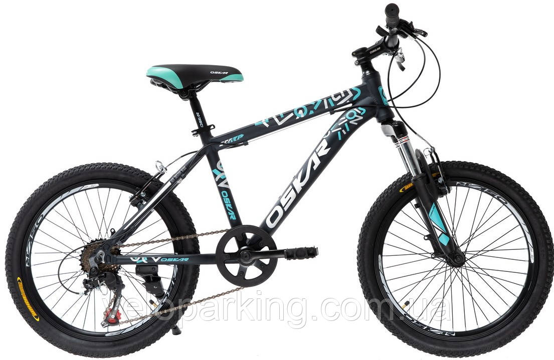 Горный спортивный детский алюминиевый велосипед Oskar Kid 20 DD (2019) new