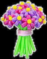 Букет  из воздушных шариков, цветы из воздушных шариков 20 цветочков