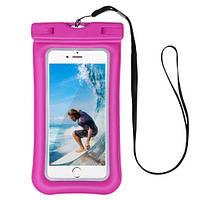 Чехол для смартфона водонепроницаемый Dutik розовый, фото 1