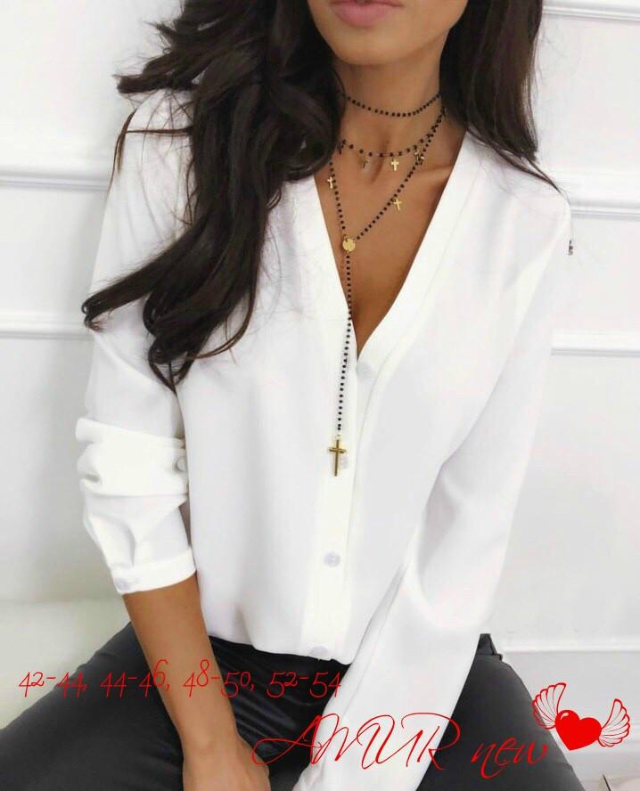 Блуза женская,блузка красивая, в расцветках (норма и ботал)