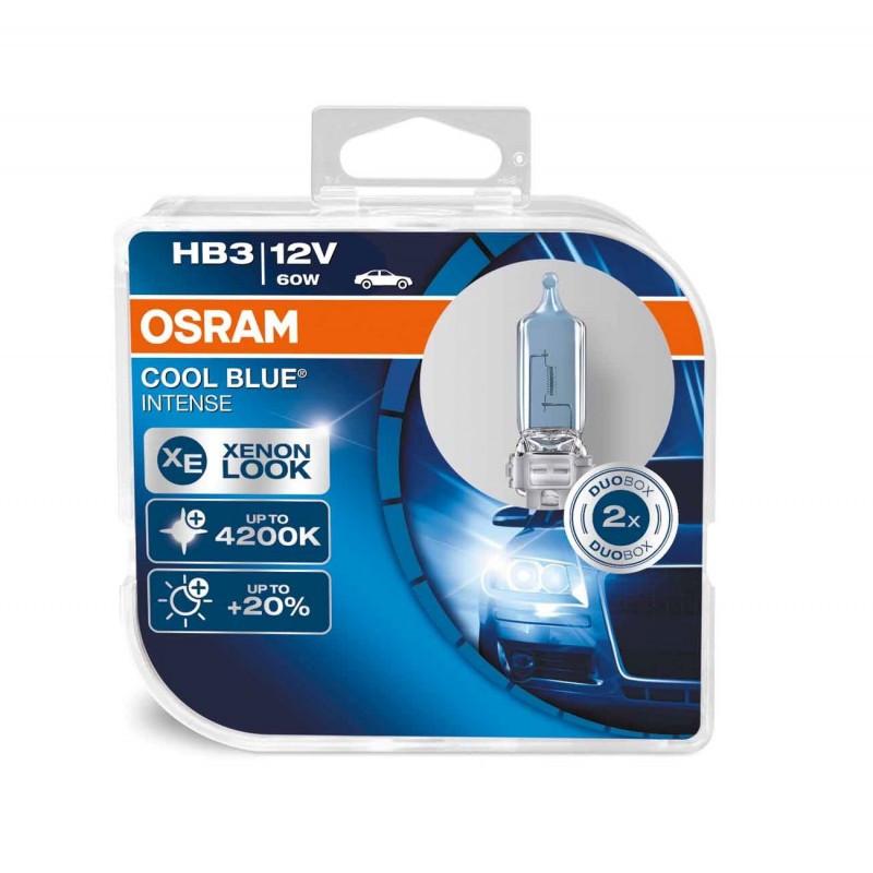 Автолампа OSRAM 9005CBI Cool Blue Intense HB3 60W 12V P20d 10X2 HardDuopet