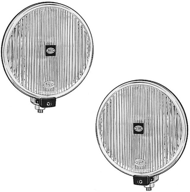 Комплект автомобільних фар дальнього світла Hella Comet 500 1F4005750811