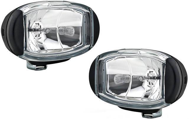 Комплект автомобильных противотуманных фар Hella Comet FF 550 1ND010953811, фото 2