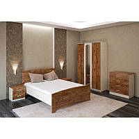Спальня «Флоренция», дуб британский/дуб молочный, фото 1