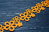 Лента флизелин оранжевая 5,5*190 см