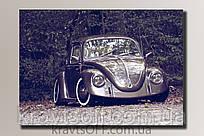 """Картина на холсте """"Volkswagen Beetle"""" ( 54x76 см )"""