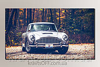 """Картина на холсте """"Автомобиль 007"""" ( 30.5x54 см )"""