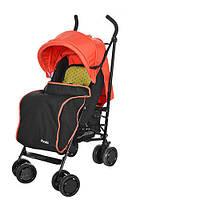 Прогулочная коляска-трость El Camino PICNIC M 3419-7, оранжевая