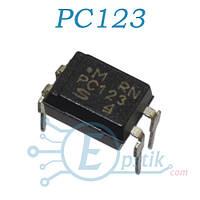 PC123, оптопара транзисторная, DIP4