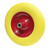 Колесо из пенополиуретана 400х90 шариковый подшипник (2х204) Маркировка 4.80/4.00-8