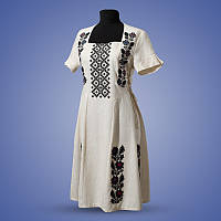 Вышитое платье женское в этно стиле