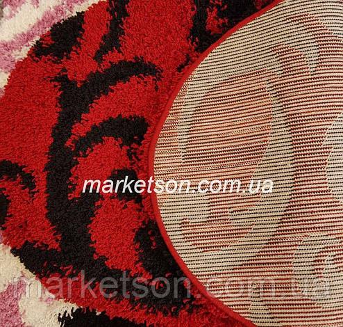 Коврик Shaggy 1,20х1,70 м. пушистый с длинным ворсом. Турция., фото 2