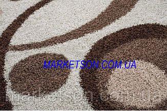 Коврик Shaggy 1,20х1,70 м. пушистый с длинным ворсом. Турция., фото 3