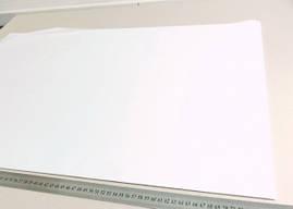 Бумага тишью  белая для помпонов и упаковки