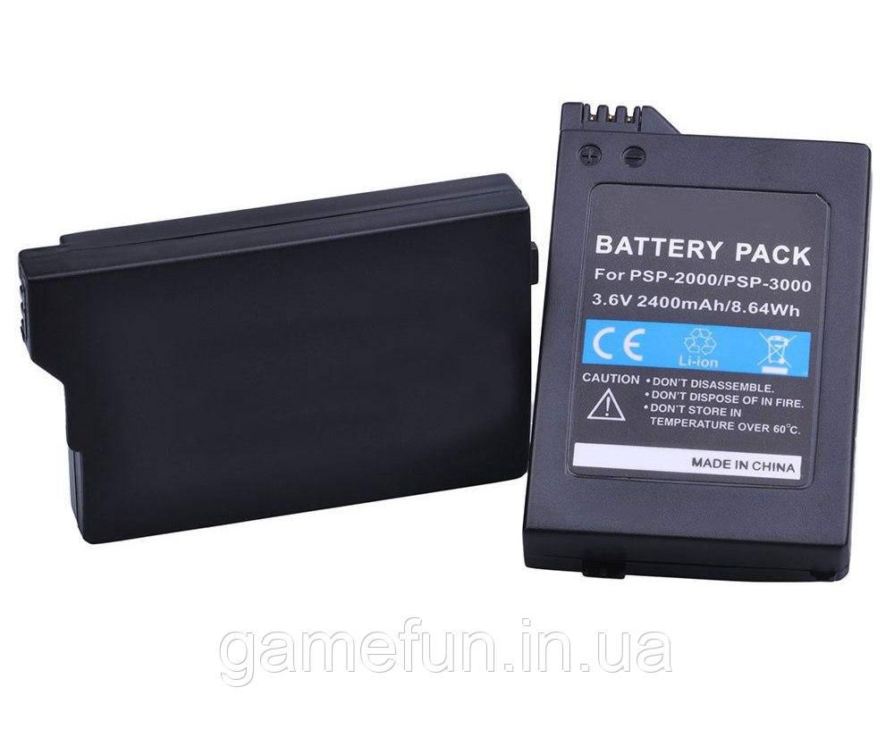 Sony PSP 2000/3000 (Slim) аккумулятор 3.6V/2400mAh
