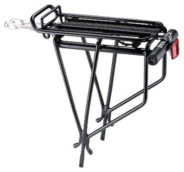 Велосипедный багажник задний Topeak OS Tubular Rack к серии MTX з/замком тип U черный 2,2кг (GT)