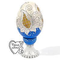 Сувенірна пасхальне яйце, подарунок на Великдень, ручна робота