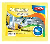 Салфетка вискозная (5шт/уп) - Vivat