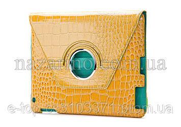 Чехол для iPad лакированный ( croco ) (012-1)
