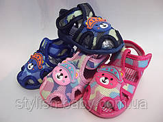 Дитячі пінетки-босоніжки ТМ. Bluerama (пищят) (16-20)