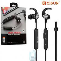 Bluetooth наушники с микрофоном Yison E6 черные