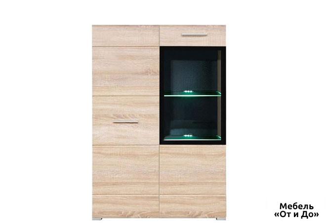 Модульная гостиная Вушер Витрина REG 1D1Wm/L