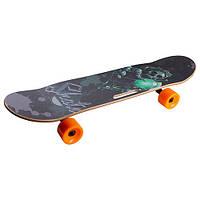 Скейтборд с отверстием в доске (р-р 78х20 см)