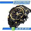 Мужские спортивные часы Skmei 1155 /Тактические /Водонепроницаемые/С подсветкой