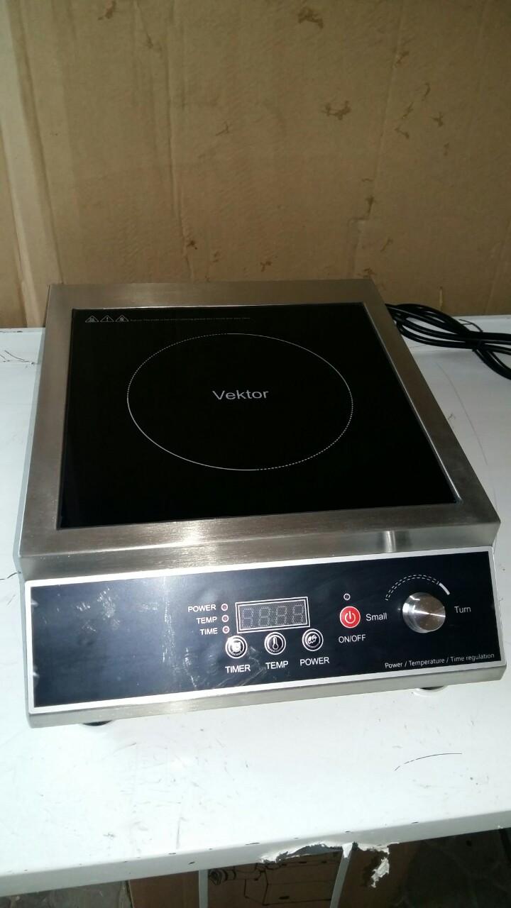 Настольная профессиональная индукционная плита Vektor LS-A80 (3500вт)